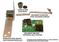Lincoln Welder Idler replacement kit| Idler board, linkage and solenoid for SA 200 welder