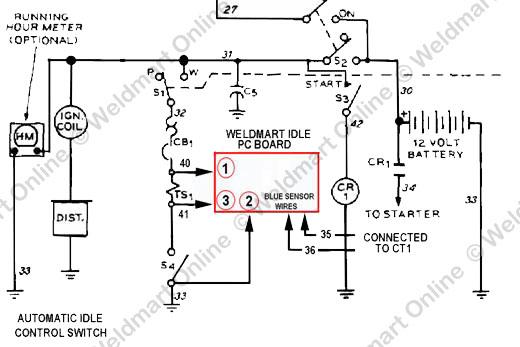 Installation Instructions Weldmart Idler Upgrade Board For The Miller Aead 200 Series Technical Manuals Weldmart Online