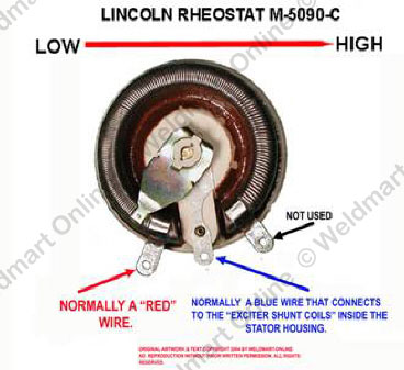 understanding and troubleshooting the lincoln sa 200 dc generator labeled diagram of the lincoln sa 200 m5090c rheostat